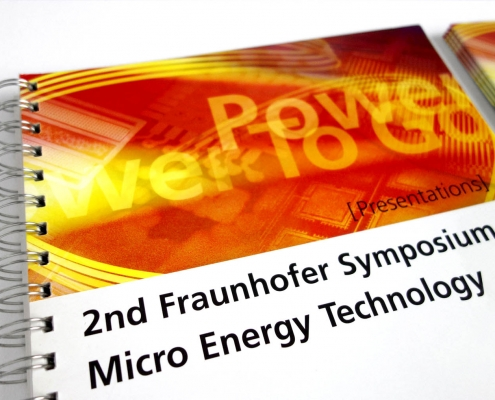 Fraunhofer Gesellschaft | 2nd Fraunhofer Symposium Micro Energy Technology